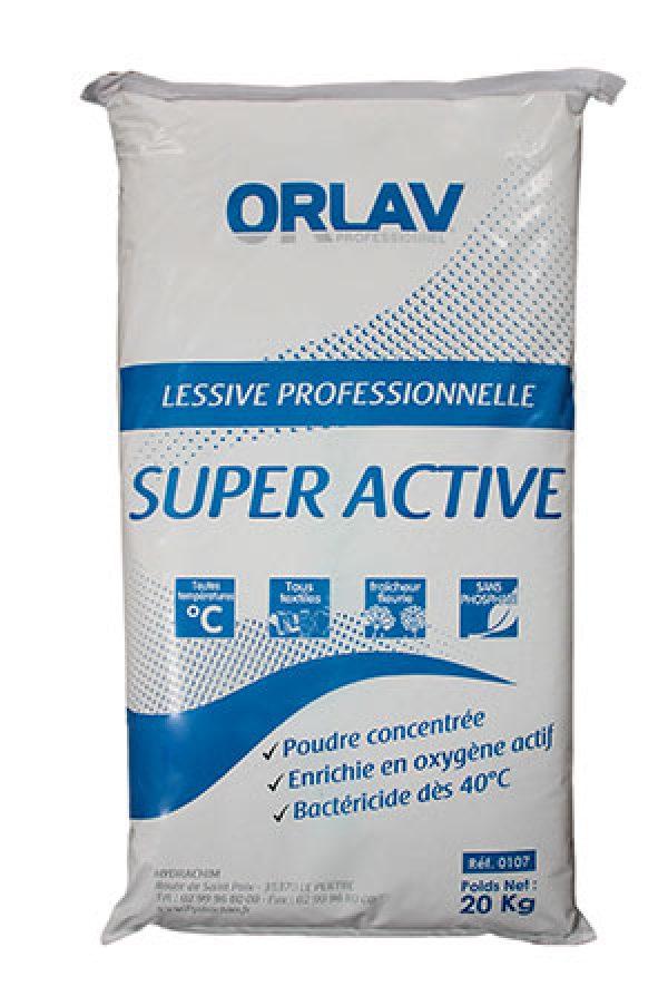 Lessive Super Active en poudre et granulés