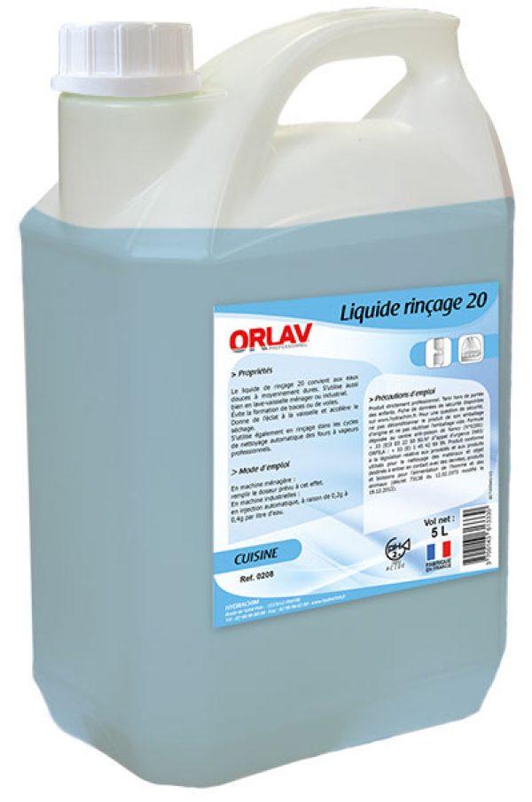 Produit liquide de rinçage pour la vaisselle - Liquide Rinçage 20