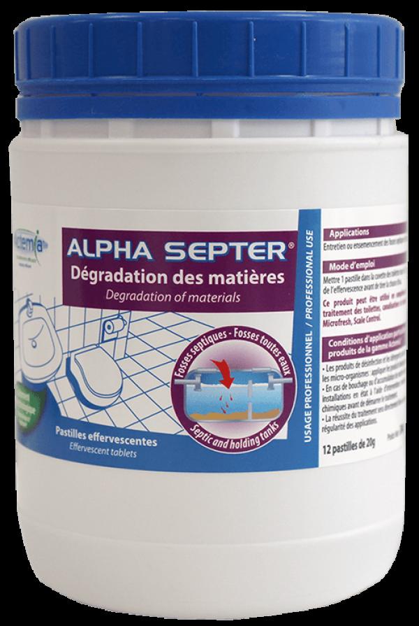 Pastille pour les fosses septiques - Alpha Septer