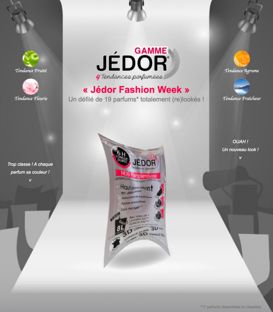 Nouvelle gamme Jedor
