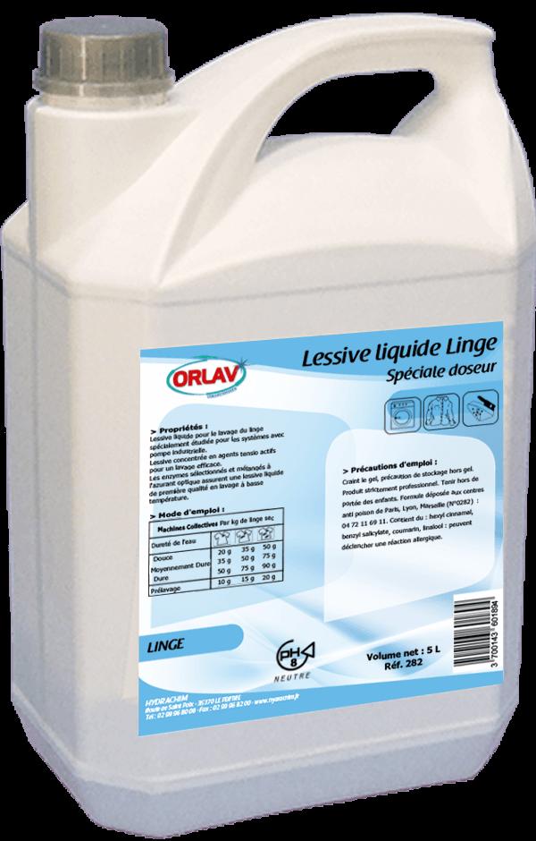 Lessive liquide à la lavande, spécialement conçu pour les doseurs automatique