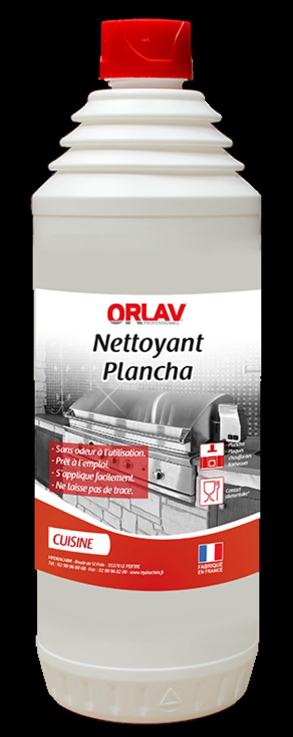 Produit nettoyant Plancha pour le dégraissage à hautes températures