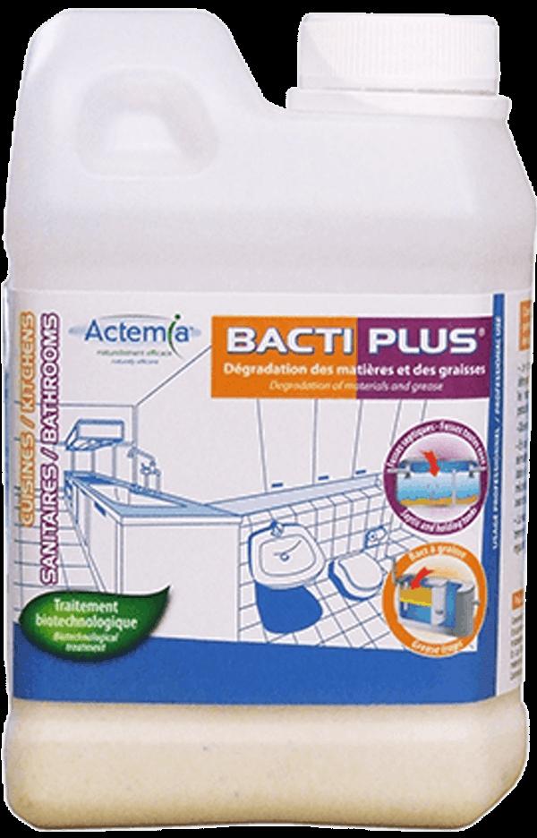 Produit en poudre pour la dégradation des matières organiques - Bacti Plus