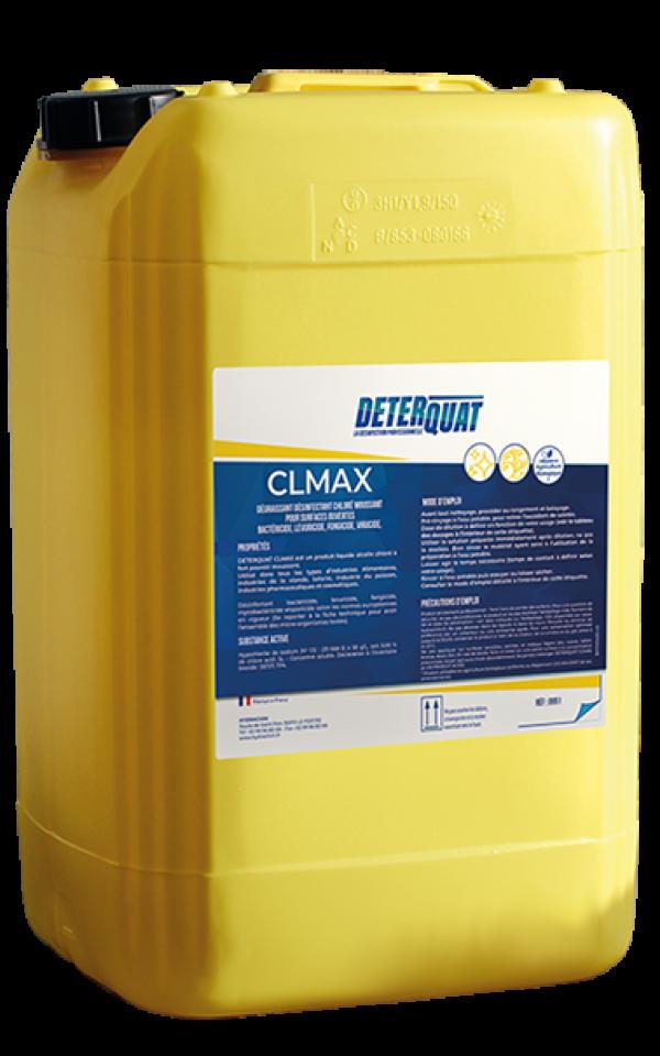 Dégraissant désinfectant chloré moussant - CLMAX