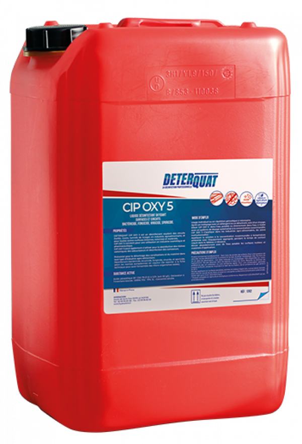 Désinfectant oxydant multi-surfaces - CIP OXY 5