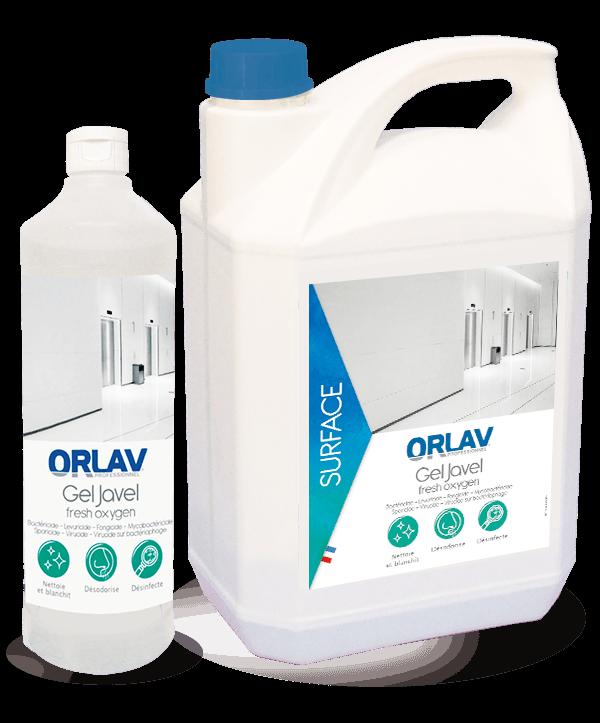 Gel JAVEL Fresh Oxygen - produit pour l'hygiène des surfaces