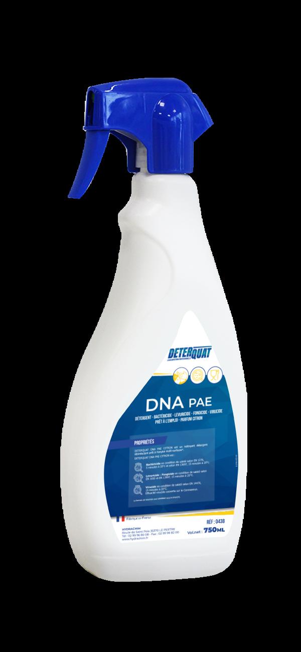 Nettoyant désinfectant citron - DNA PAE CITRON