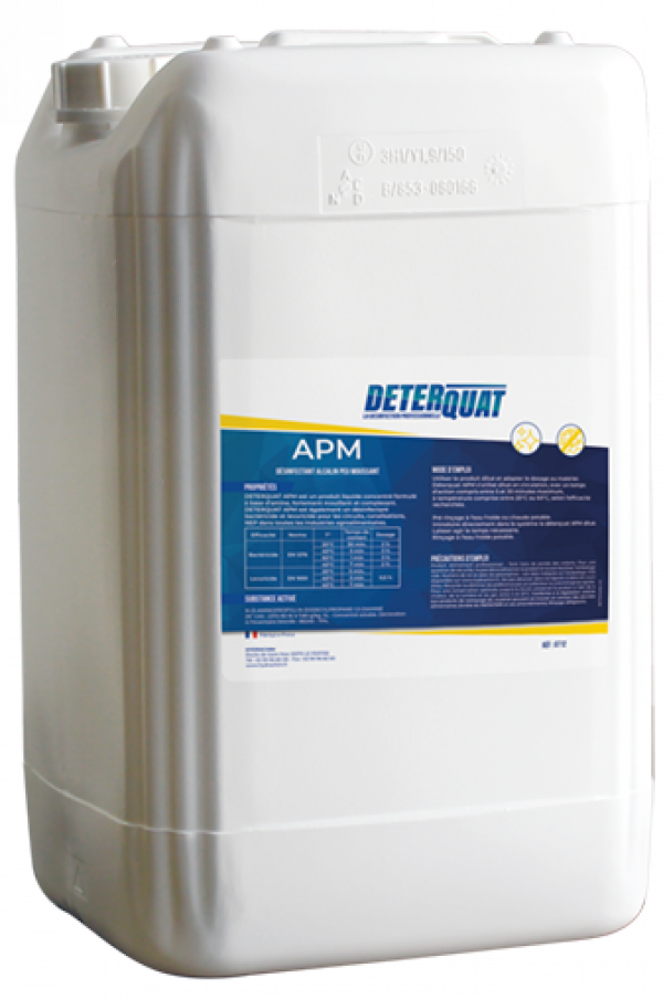 Nettoyant alcalin et désinfectant - APM