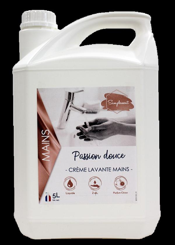 Passion douce - Crème lavante pour les mains au parfum de citron