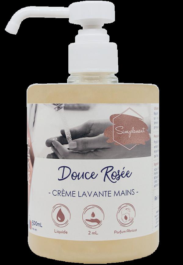 Douce rosée - Crème nacrée pour le lavage des mains au parfum d'abricot