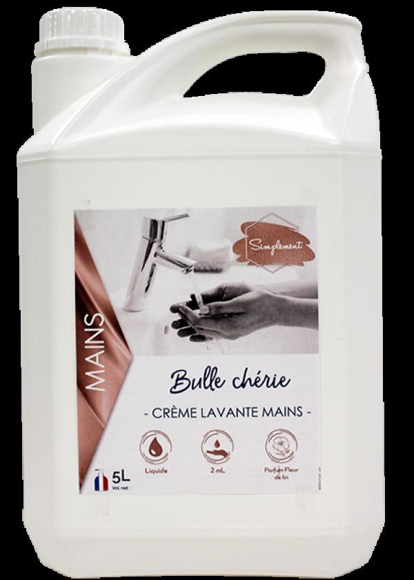 Tendre bulle - Mousse lavante pour le lavage des mains à la fleur de lin