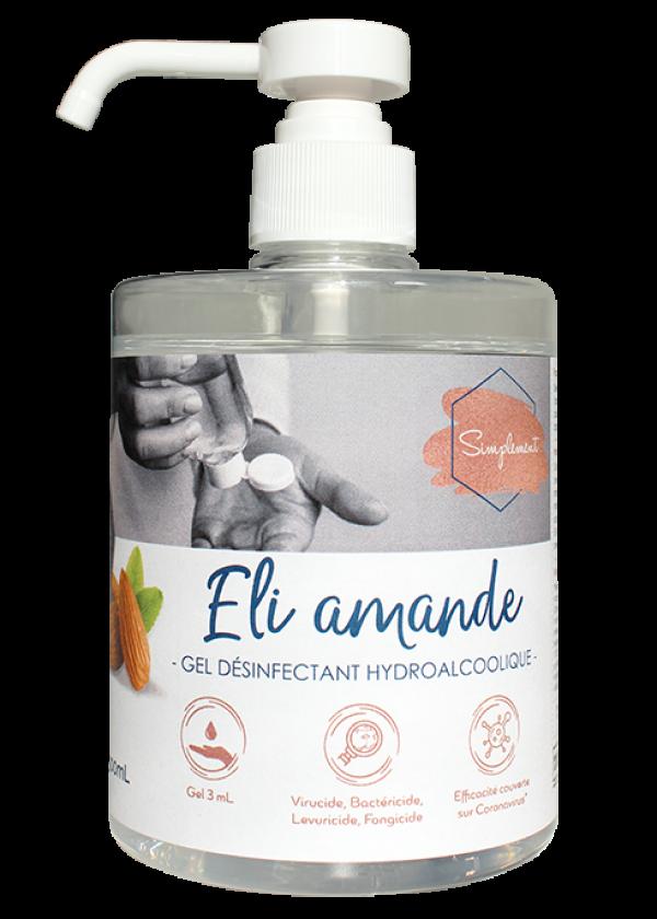 Eli Amande - Gel hydroalcoolique au parfum amande