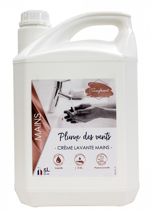 Plume des vents - Crème nacrée pour le lavage des mains