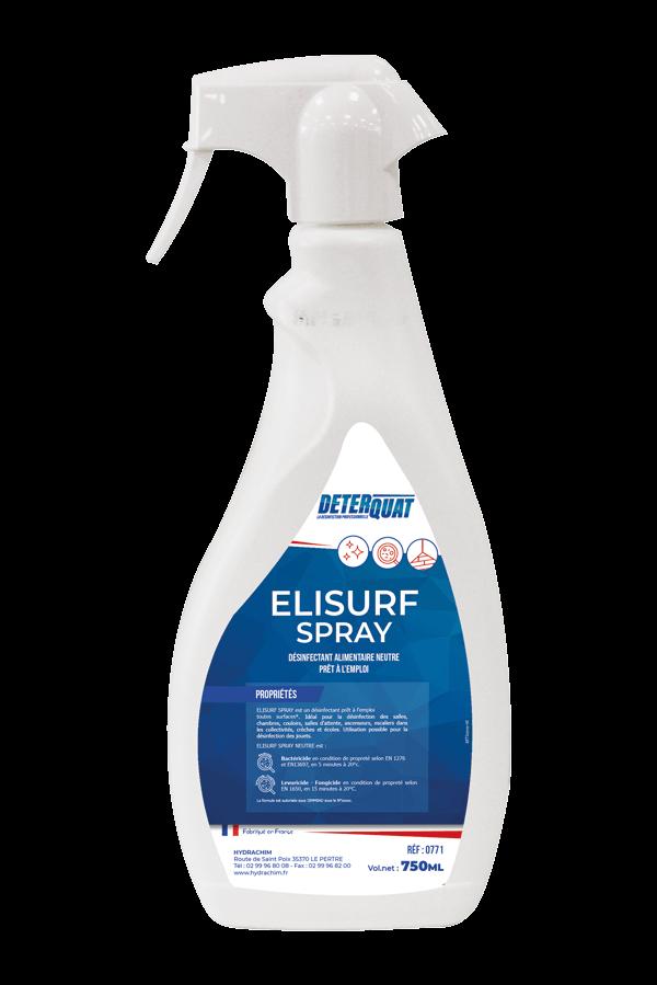 Désinfectant multi-surfaces rapide - Elisurf Spray